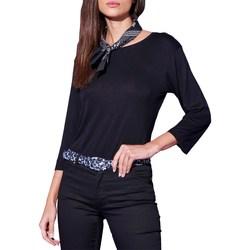Abbigliamento Donna T-shirts a maniche lunghe Silvian Heach sha20325b nd