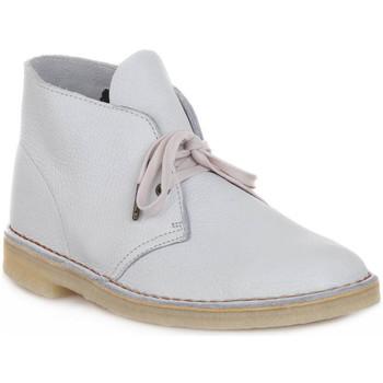 Scarpe Stivaletti Clarks DESERT BOOT M WHITE Bianco