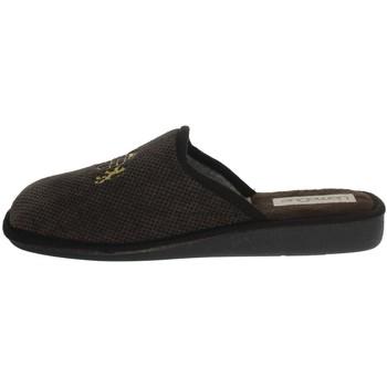 Scarpe Uomo Pantofole Uomodue LORD-5 MARRONE