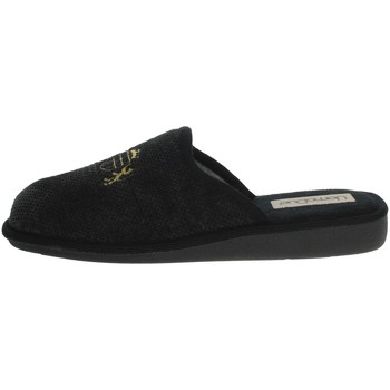 Scarpe Uomo Pantofole Uomodue LORD-4 NERO/GRIGIO