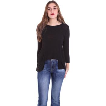 Abbigliamento Donna T-shirts a maniche lunghe Dixie T340M028 Nero