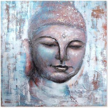 Casa Dipinti, tele Signes Grimalt Dipinto Di Buddha Multicolor