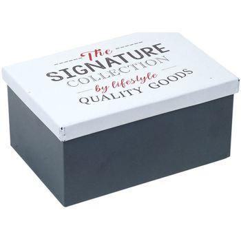 Casa Bauli, scatole di immagazzinaggio Signes Grimalt Scatola Di Metallo Multicolor