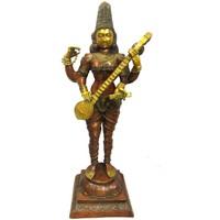 Casa Statuette e figurine Signes Grimalt Standing Saraswati Multicolor