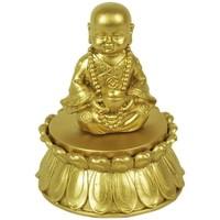 Casa Statuette e figurine Signes Grimalt Buddha Con Scatola Dorata Dorado
