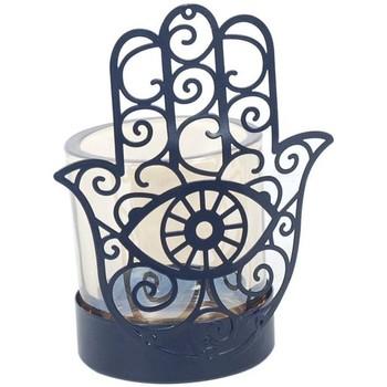 Casa Candelieri, porta candele Signes Grimalt Candelabro Fatima Hand Lila