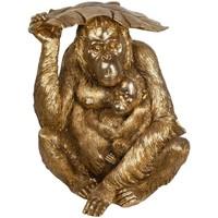 Casa Statuette e figurine Signes Grimalt Orangutan Dorado Dorado