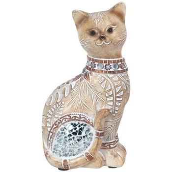 Casa Statuette e figurine Signes Grimalt Piccolo Cat Specchio Marrón