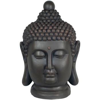 Casa Statuette e figurine Signes Grimalt Buddha Head Magnesia Negro