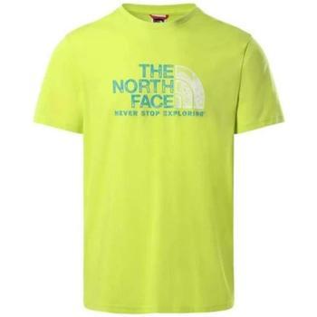 Abbigliamento Uomo T-shirt maniche corte The North Face JE31 ACIDO Verde