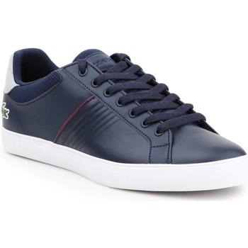 Scarpe Uomo Sneakers basse Lacoste 7-33CAM1049003 granatowy