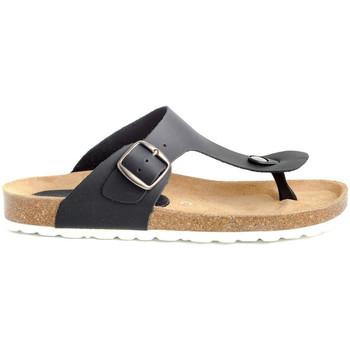 Scarpe Donna Sandali Colour Feet MITJANA Nero