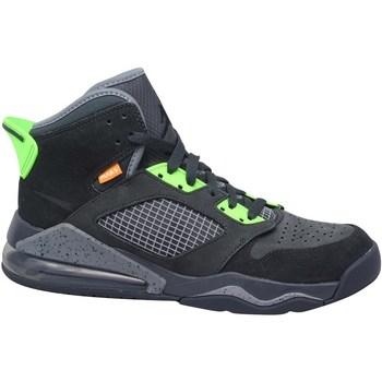 Scarpe Uomo Pallacanestro Nike Jordan Mars 270 Nero, Grigio, Verde