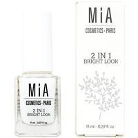 Bellezza Donna Smalti Mia Cosmetics Paris 2 In 1 Bright Look Tratamiento Uñas  11 ml