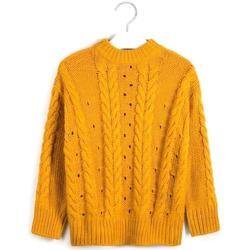 Abbigliamento Bambina Maglioni Mayoral ATRMPN-24640 Giallo