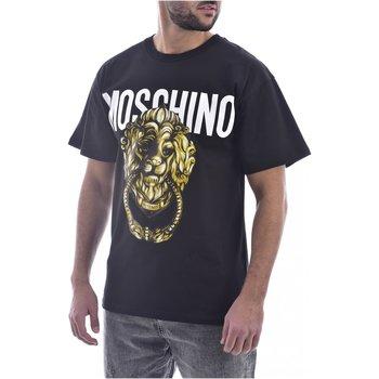 Abbigliamento Uomo T-shirt maniche corte Moschino maniche corte ZA0716 - Uomo nero