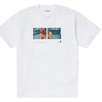 Abbigliamento Uomo T-shirt maniche corte Carhartt I029064-02.00 Bianco