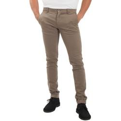 Abbigliamento Uomo Chino Mason's 9PN2A4973MBE130-274 Bianco