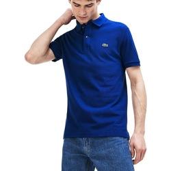 Abbigliamento Uomo Polo maniche corte Lacoste PH4012-X0U Blu