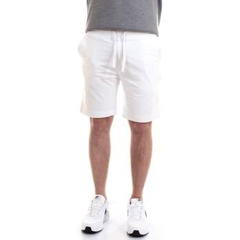 Abbigliamento Uomo Shorts / Bermuda Aeronautica Militare 211BE030F424 Bermuda Uomo bianco bianco