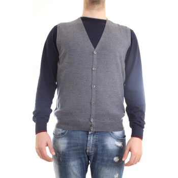 Abbigliamento Uomo Gilet / Cardigan Gran Sasso 58182/14296 Gilet Uomo grigio grigio