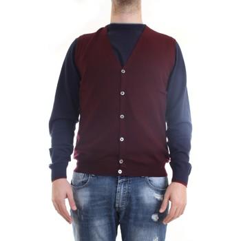 Abbigliamento Uomo Gilet / Cardigan Gran Sasso 58182/14296 Gilet Uomo bordeaux bordeaux