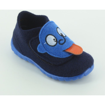 Scarpe Unisex bambino Pantofole Superfit 295 pantofola linguaccia Blu