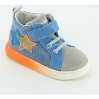 Scarpe Unisex bambino Sneakers alte Falcotto Stellar velcro chiuso Grigio