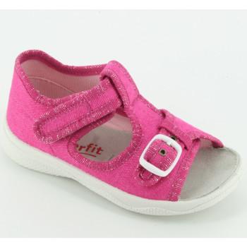Scarpe Unisex bambino Sandali Superfit 292A sandalo tessuto Rosa