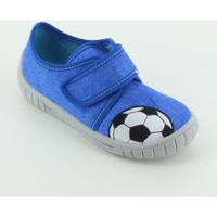 Scarpe Bambino Pantofole Superfit 800273 pantofola pallone Blu