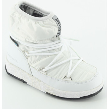 Scarpe Bambina Stivali da neve Moon Boot W.E. JR Girl Low Bianco