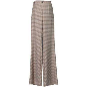 Abbigliamento Donna Pantaloni morbidi / Pantaloni alla zuava Denny Rose ATRMPN-24676 Marrone