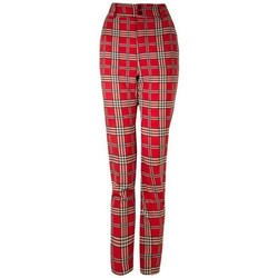 Abbigliamento Donna Pantaloni Denny Rose ATRMPN-24677 Rosso