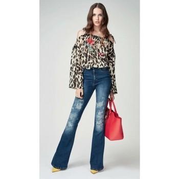 Abbigliamento Donna Jeans bootcut Denny Rose ATRMPN-24682 Blu
