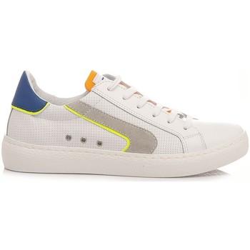 Scarpe Unisex bambino Sneakers basse Ciao Sneakers Bassa Bambini C4789.36 Bianco bianco, arancio, blu royal