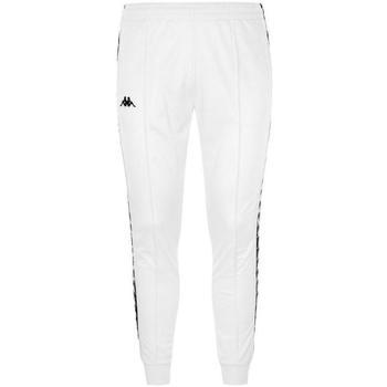 Abbigliamento Bambino Pantaloni da tuta Kappa PANT.FELPA 922 NERO Bianco