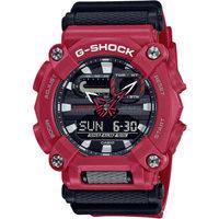 Orologi & Gioielli Uomo Orologio Misto Analogico-Digitale Casio GA-900-4AER, Quartz, 49mm, 20ATM Rosso