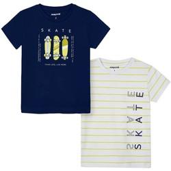 Abbigliamento Bambino T-shirt maniche corte Mayoral  Azul