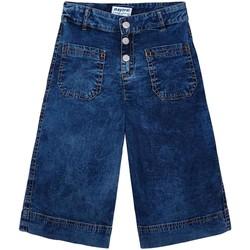 Abbigliamento Bambina Pantaloni Mayoral  Azul