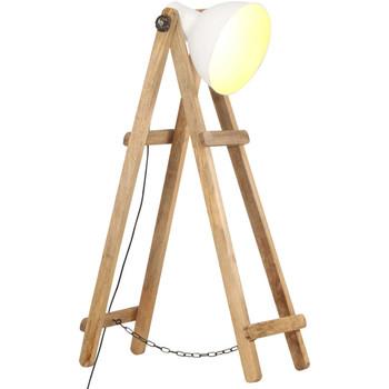 Casa Lampade da terra VidaXL Lampada da pavimento Bianco