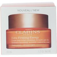 Bellezza Donna Antietà & Antirughe Clarins Extra Firming Jour Energy Crème Toutes Peaux  50 ml