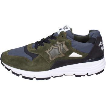 Scarpe Uomo Sneakers Atlantic Stars BJ492 Verde