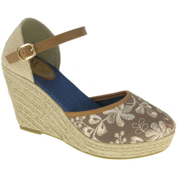 Scarpe Donna Espadrillas BEPPI Casual sandals with wedge