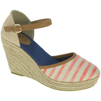 Scarpe Donna Espadrillas BEPPI Casual sandals with wedge Rosa