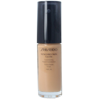 Bellezza Donna Fondotinta & primer Shiseido Synchro Skin Glow Luminizing Fluid Foundation g5 30 ml