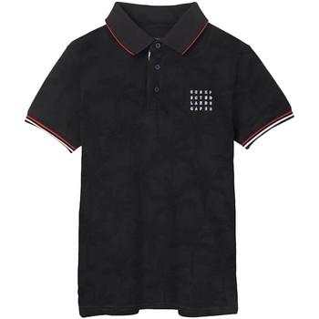 Abbigliamento Bambino Polo maniche corte Mayoral  Negro