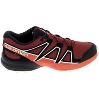 Scarpe Unisex bambino Sneakers basse Salomon Speedcross K Rouge Noir Rosso