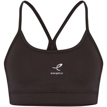 Abbigliamento Donna Reggiseno sportivo Energetics 407426 Reggiseni Sportivi Donna Nero Nero