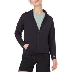 Abbigliamento Donna Felpe Energetics 411056 Con Cappuccio Donna Nero Nero