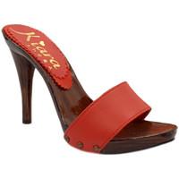 Scarpe Donna Ciabatte Kiara Shoes KM7203 Coral